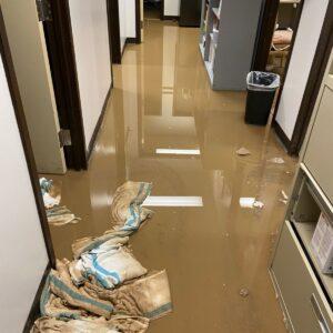 West Park Healthcare Centre Flood